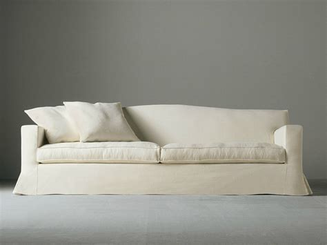 sofa with removable covers sofa with removable cover neuman by meridiani