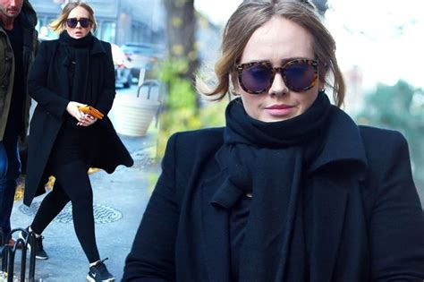 adele someone like you ex boyfriend name adele looks chic in new york as she reveals she has