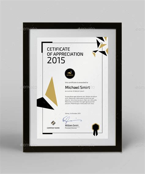 15 fascinating printable certificates of appreciation