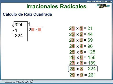 calcular la raiz cuadrada de un numero n 218 meros irracionales como calcular una ra 237 z cuadrada