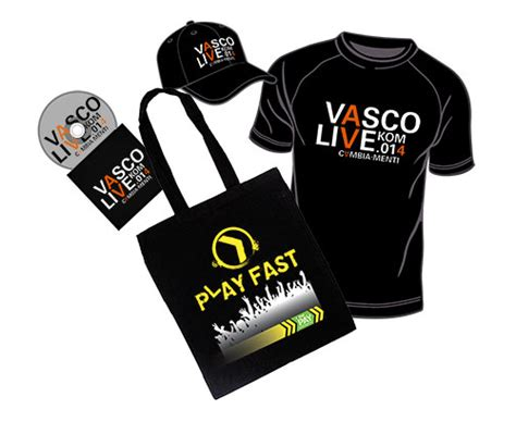 vasco gadget vinci t shirt cappellini cd o pass vasco con