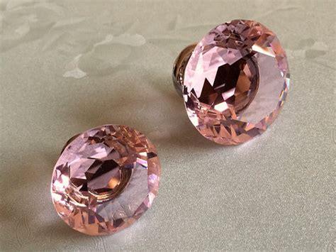 pink knob knobs glass knobs knob dresser knob drawer