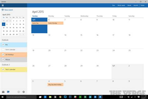 Calendario Windows 10 Windows 10 Look At New Mail Calendar Apps Slashgear
