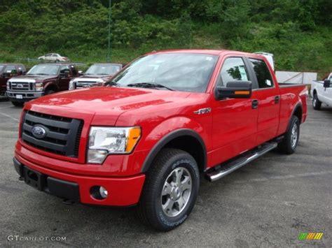 2010 vermillion ford f150 fx4 supercrew 4x4 31391917 photo 10 gtcarlot car color