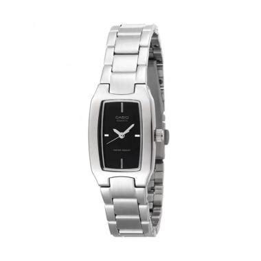 Jam Tangan Wanita Casio Casual jual casio jam tangan wanita original casual l 0156a hitam harga kualitas terjamin