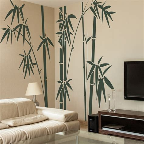 wall stickers home decor bamboo tree wall sticker inspirational family vinyl home