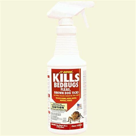 sprayway  oz good night bed bug  dust mite spray swr  home depot