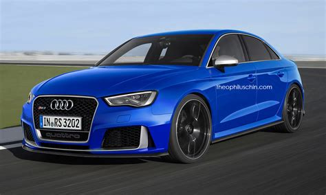 audi rs3 sedan audi rs3 sedan looks convincing in new renderings
