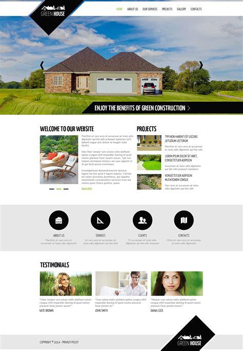 Landscape Design Responsive Website Template 48034 Landscape Architecture Website Templates