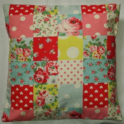Cath Kidston Patchwork - cushion cover in cath kidston patchwork 14 16 18 20