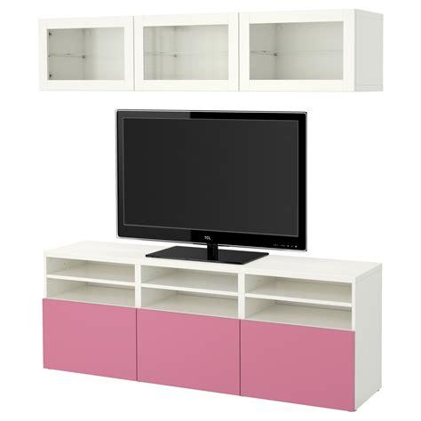 ikea besta glass doors best 197 tv storage combination glass doors lappviken pink