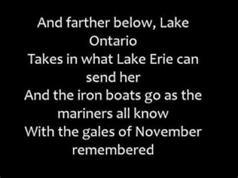 wreck of the edmund fitzgerald gordon lightfoot song lyrics fitzgerald videolike