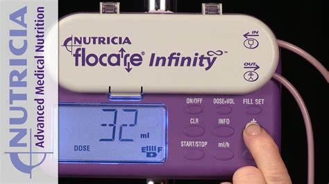 flocare infinity programmierung flocare infinity ern 228 hrungspumpe i nutricia