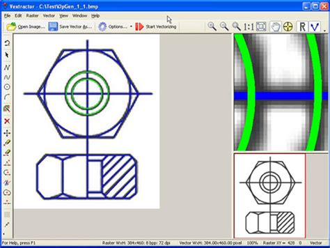 vextractor vector drawing software   discount  pc