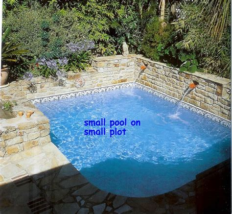 small built in pools 1000 ideas about small backyard pools on pinterest