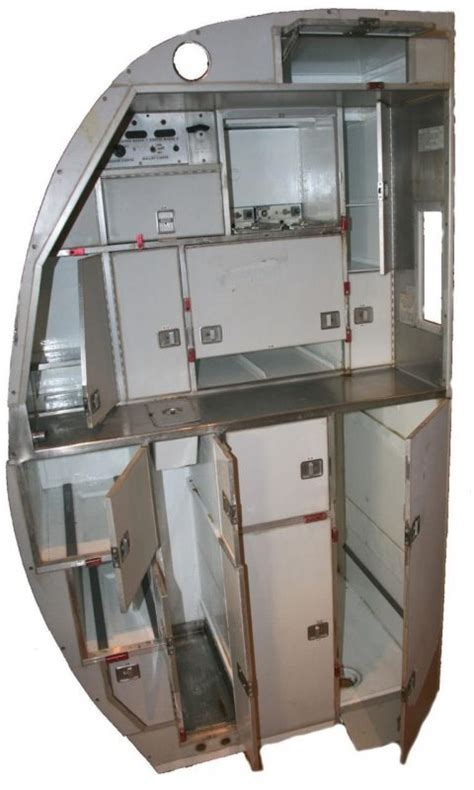 Vintage Aircraft Galley Kitchen   Interior Boutiques