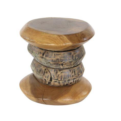 teak wood footstool 16 in x 16 in new traditional teak wood foot stool 37819