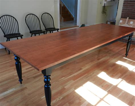 dining table maple dining table tiger maple french farmhouse dining table custom