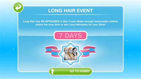 how to get long hairs on sims freeplay sims freeplay long hair event returns full guide