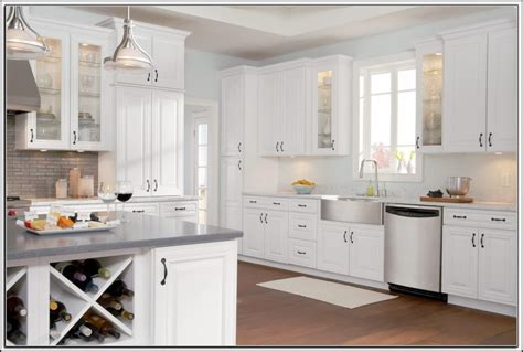 White Kitchen Cabinets Home Depot Kitchen Ideas and Design Gallery