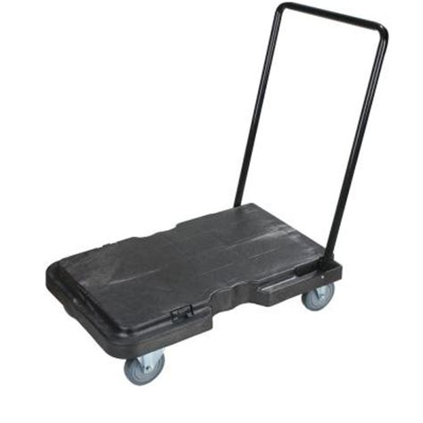 carlisle 500 lb adjustable handle standard duty dolly