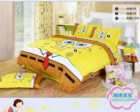 spongebob bedroom set compare prices on spongebob queen bedding online shopping