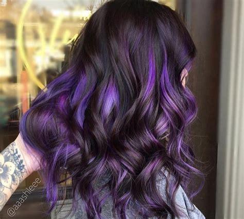 purple highlights on hair is the instagram trend all things hair uk