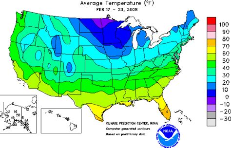 Temperature Map Of Usa by Journey North International Plant Study Spring 2008