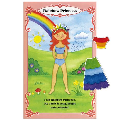 Magnetic Book Princess magnetic dressing up princesses scholastic book club