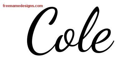 design my name tattoo online free lively script name designs cole free