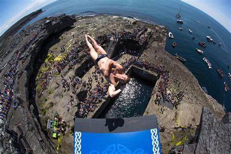 bull high dive bull cliff diving ireland 2017 live event page