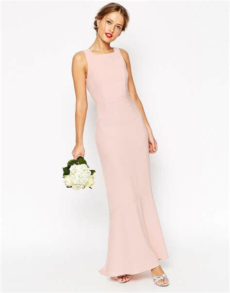 Bridesmaid Dresses Uk Asos - pink bridesmaid dresses fishtail asos bridesmaid and