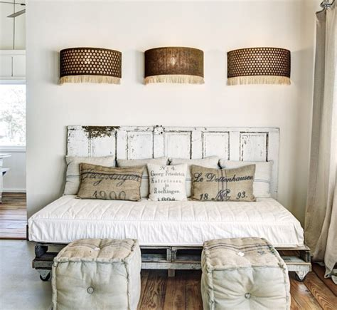 using doors as headboards remodelaholic 100 ways to use doors