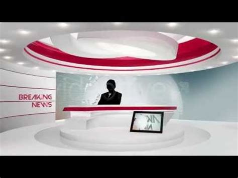 Broadcast Design News After Effects Template Youtube Broadcast After Effects Template