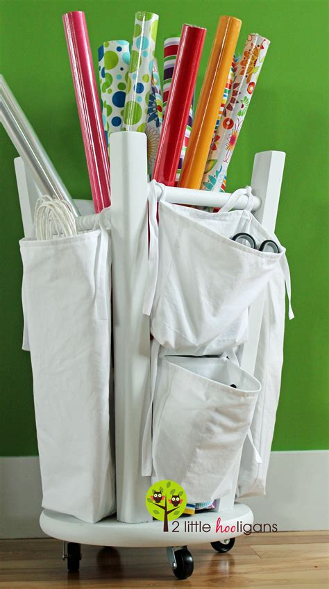 where can i get a gift wrapped 33 ways to organize your gift wrapping essentials