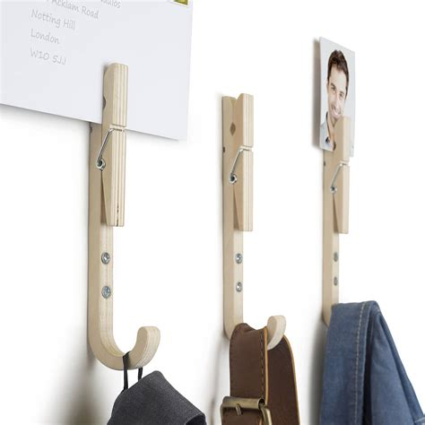 unique coat hooks furniture creative wall hanger ideas for your home