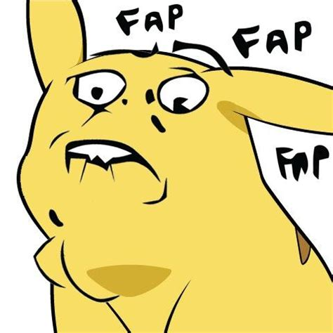 Fapping Meme - pikachu fapping give pikachu a face know your meme