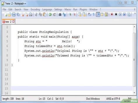 dividir cadenas java 5 formas de manipular cadenas en java wikihow