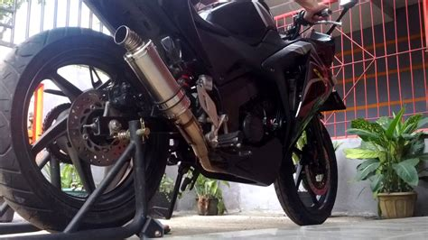 Knalpot Racing Proliner All New Cb150 knalpot pdk new cbr 150 r fi