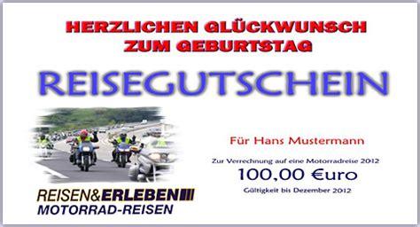 Bilder Gutschein Motorrad by Reisen Und Erleben Gmbh Das Ideale Geschenk F 252 R