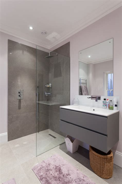 purple gray bathroom how to use purple in bathrooms interior design ideas 2014
