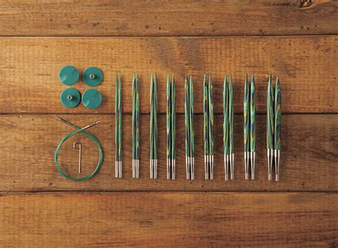 interchangeable knitting needle sets options interchangeable caspian circular knitting needle