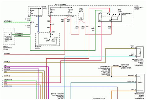 1996 dodge ram 1500 diagram 1996 dodge ram fuse diagram