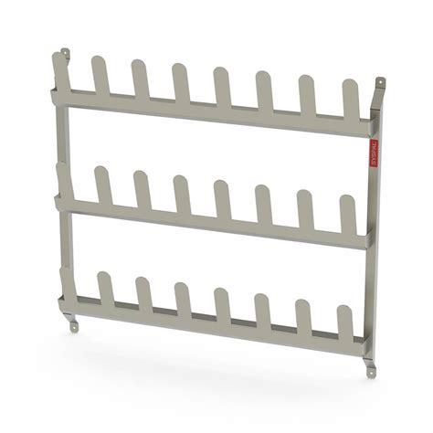 Rack Wallmount wall mounted shoe racks uk manufacturer syspal uk