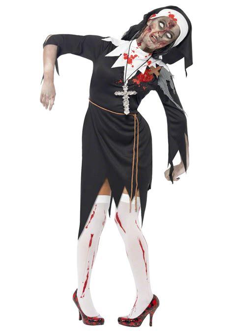 undead halloween costumes undead nun costume religious costumes zombie costumes