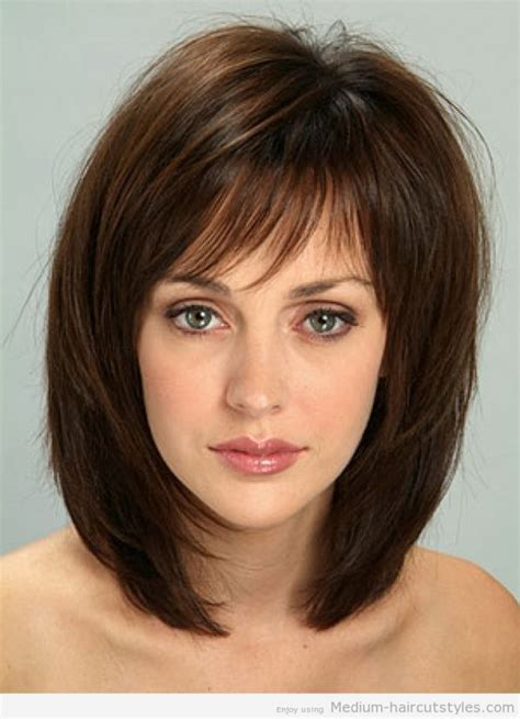 haircuts for slim women tag medium haircuts for thin hair with bangs hairstyle