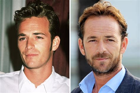 Wheres Luke Perry Now by Luke Perry Then Now Stanton Daily
