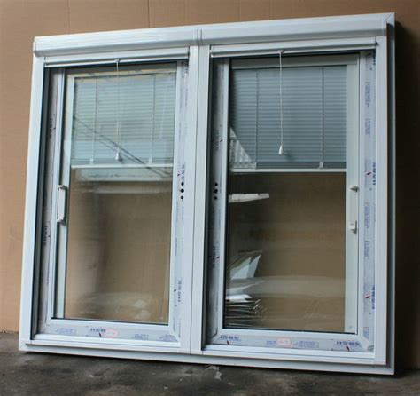 Aluminum Upvc Frame Glass Door With Built In Blinds Big Sliding Glass Doors With Built In Blinds