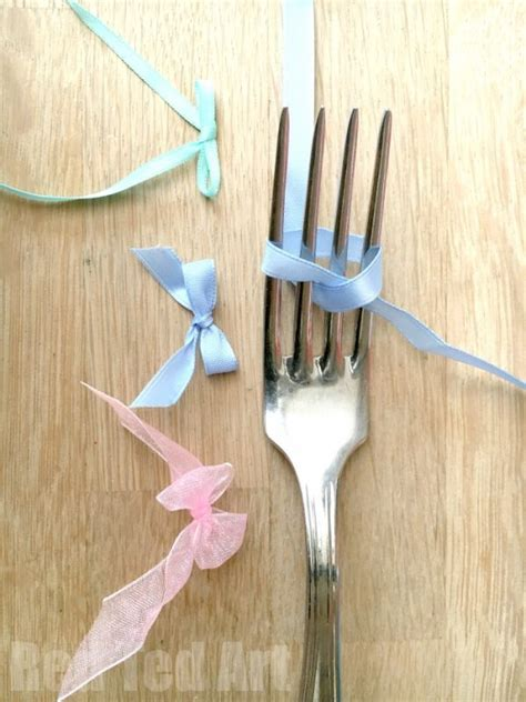 tutorial linux fork how to make a bow with a fork red ted art s blog