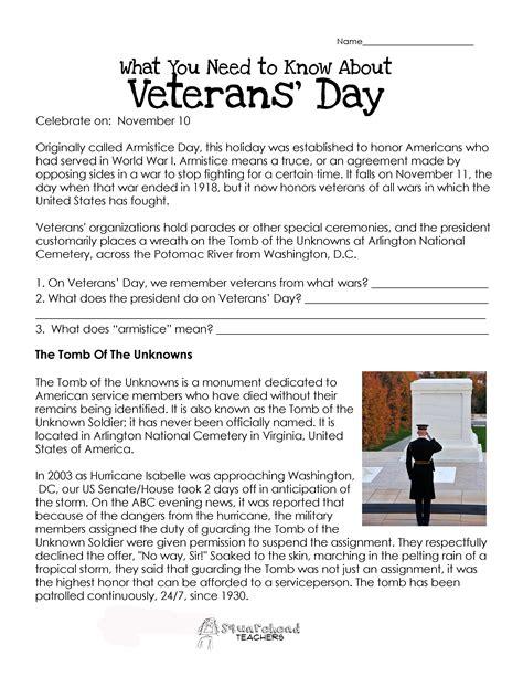 printable worksheets veterans day american hist patriotic squarehead teachers